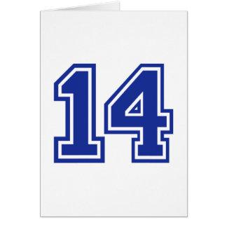 14 - Fourteen Card