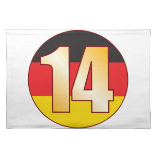 14 GERMANY Gold Placemat