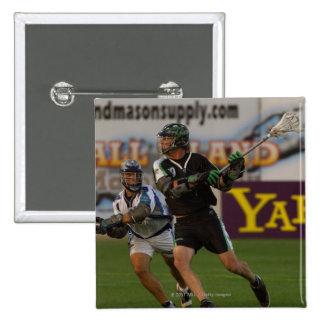 14 Jul 2001:  Terry Riordan #19  Long 15 Cm Square Badge