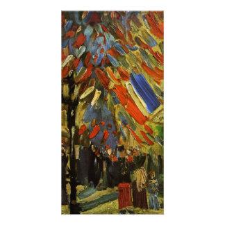 14 July in Paris by Vincent van Gogh Photo Greeting Card