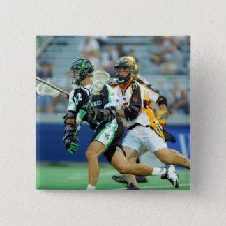 14 Jun 2001:  A.J. Haugen #12  Long Island 15 Cm Square Badge