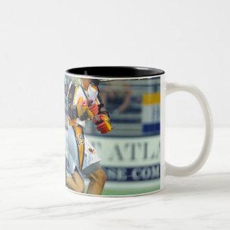 14 Jun 2001:  Bill Santamaria #33  Long Two-Tone Coffee Mug