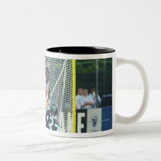 14 Jun 2001:  Casey Powell #22  Long Two-Tone Coffee Mug