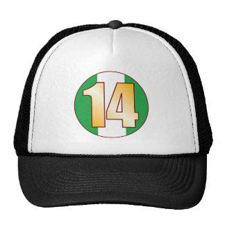 14 NIGERIA Gold Cap