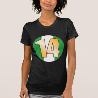 14 NIGERIA Gold T-Shirt