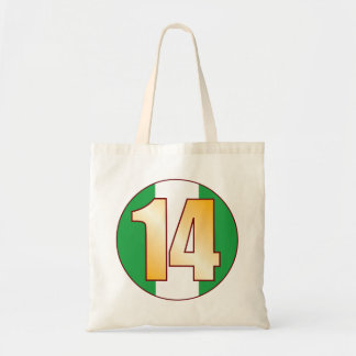 14 NIGERIA Gold Tote Bag