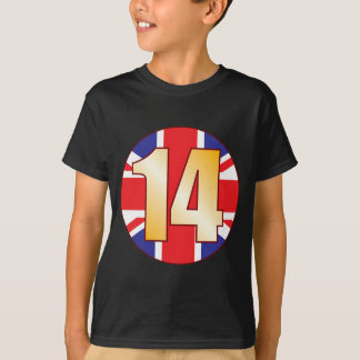 14 UK Gold T-Shirt