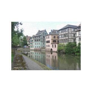 "14"" x 11"", 1.5"", Canvas - Strasbourg, France"