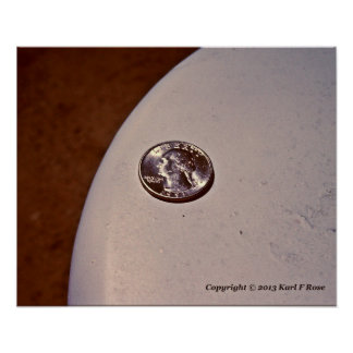 """14"""" x 11"""" coin poster"""