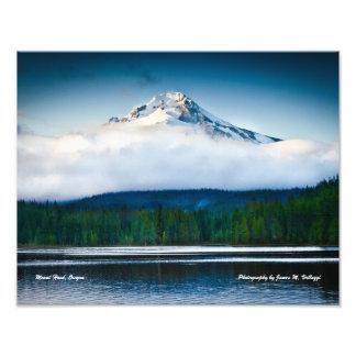 "14"" x 11"" Mount Hood from Trillium Lake Photo"