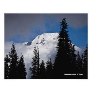 """14"""" x 11"""" Mount Hood Photo Print"""