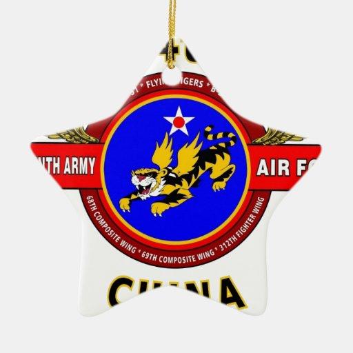 "14TH ARMY AIR FORCE ""ARMY AIR CORPS"" WW II ORNAMENT"