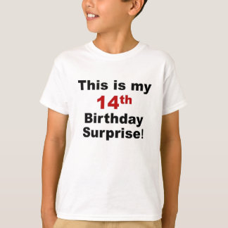 14th Birthday Surprise T-Shirt