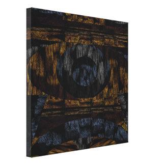 14th Pattern; Faux Fur Texture Canvas Print