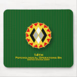 14th Psychological Operations Bn DUI Mouse Pad