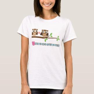 14th Wedding Anniversary Owls T-Shirt
