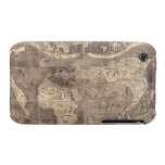 1507 Martin Waldseemuller World Map iPhone 3 Covers