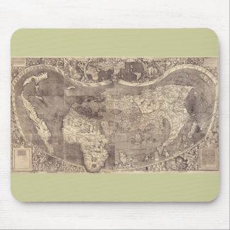 1507 Martin Waldseemuller World Map Mouse Pad