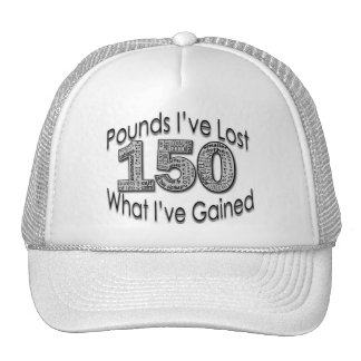 150 Pounds Lost Hat