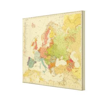 1516 European ethnographic Canvas Print