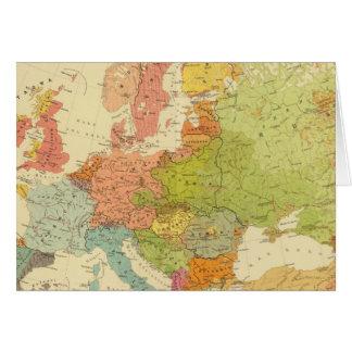 1516 European ethnographic Card