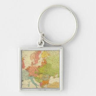 1516 European ethnographic Key Ring