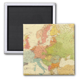 1516 European ethnographic Magnet