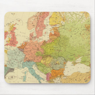 1516 European ethnographic Mouse Mat