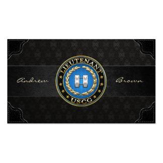 [154] Coast Guard: Lieutenant (LT) Business Card