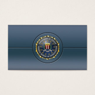 [154] FBI Special Edition Business Card