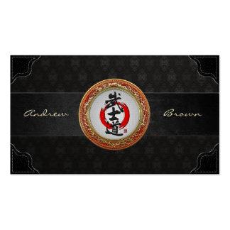 [154] Japanese Calligraphy - Bushido Business Cards