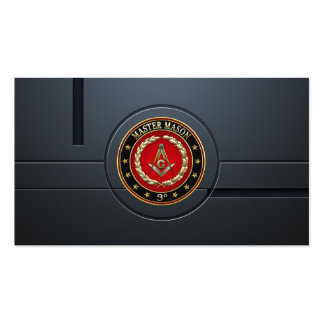 [154] Master Mason, 3rd Degree [Special Edition] Business Card