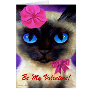155 CHARMING 11X14, Be My Valentine! Greeting Card