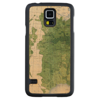 155 Corn/acre Carved Maple Galaxy S5 Case