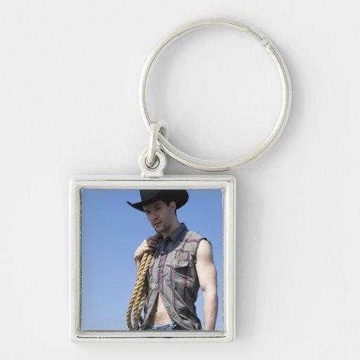 15608-RA Cowboy Keychains