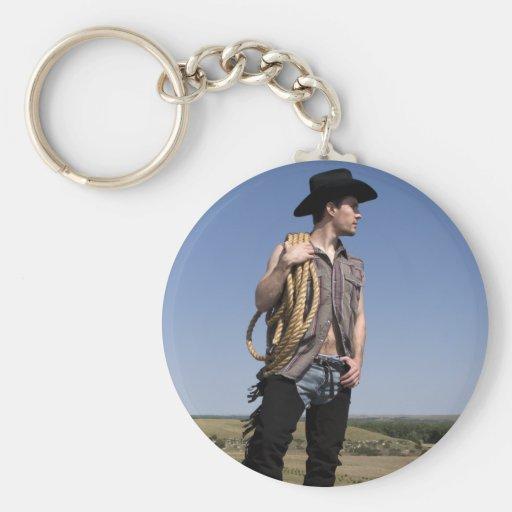 15614-RA Cowboy Key Chain