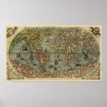1565 Ferando Berteli (Fernando Bertelli) World Map