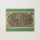 1565 Ferando Berteli (Fernando Bertelli) World Map Puzzle