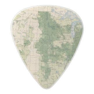 156 Wheat/sq mile Acetal Guitar Pick