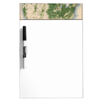 156 Wheat/sq mile Dry Erase Board