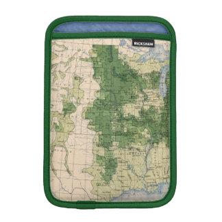 156 Wheat/sq mile iPad Mini Sleeve