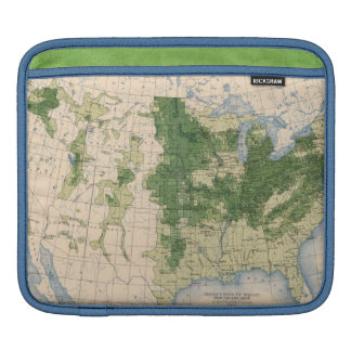 156 Wheat/sq mile iPad Sleeve