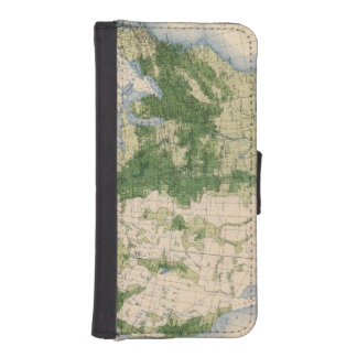 156 Wheat/sq mile iPhone SE/5/5s Wallet Case