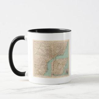 15758 Southern Brazil, Uruguay Mug