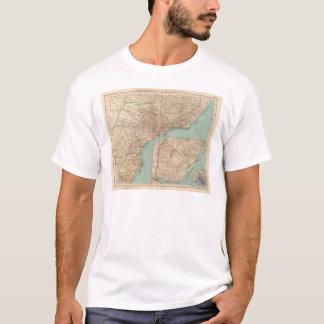 15758 Southern Brazil, Uruguay T-Shirt