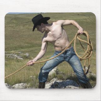 15807-RA Cowboy Mouse Mat