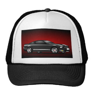 158479 FAST CARS CAR-RACING HOT STYLE AUTOMOBILE G TRUCKER HAT