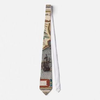 1584 Map of Portugal Tie