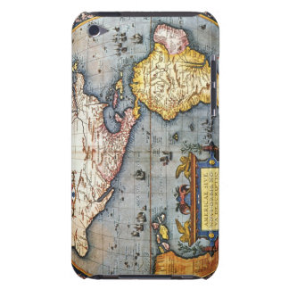 1587 Map of the Americas iPod Touch Covers