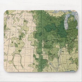 158 Oats/sq mile Mouse Pad
